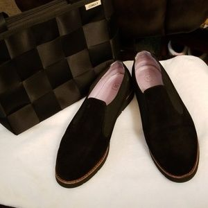 JOHNSTON &  MURPHY SLIP ON LOAFER